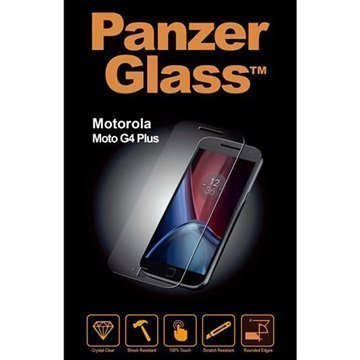 Motorola Moto G4 Plus PanzerGlass Näytönsuoja Karkaistua Lasia