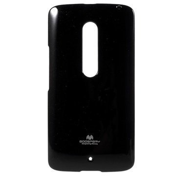 Motorola Moto X Play Mercury Goospery TPU Kotelo Musta
