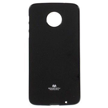 Motorola Moto Z Mercury Goospery TPU Case Black