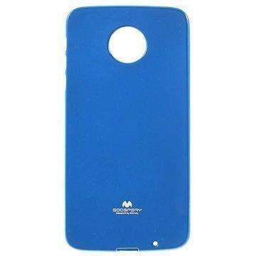 Motorola Moto Z Mercury Goospery TPU Case Blue