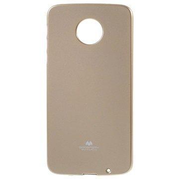 Motorola Moto Z Mercury Goospery TPU Case Gold
