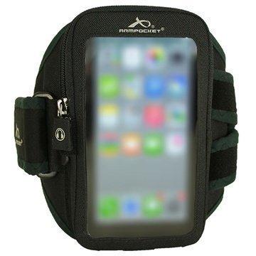 Motorola Nexus 6 Armpocket i-40 Käsivarsikotelo M Musta