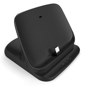 Motorola Nexus 6 KiDiGi Ultraohut Pöytälaturi Musta