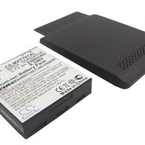 Motorola X701 tehoakku erillisellä laajennetulla takakannella 2300 mAh