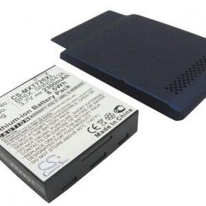 Motorola X720 tehoakku erillisellä laajennetulla takakannella 2300 mAh