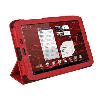 Motorola XOOM 2 Media Edition 3G MZ608 iGadgitz PU Leather Case Red
