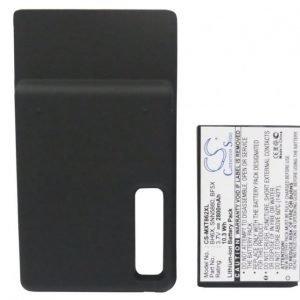 Motorola XT862 tehoakku erillisellä laajennetulla takakannella 2800 mAh