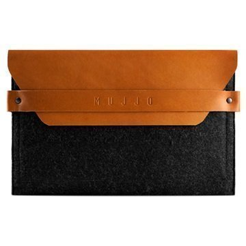 Mujjo Envelope Kotelo iPad Mini iPad Mini 2 iPad Mini 3 Keltaruskea
