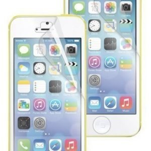 Muvit 2 pcs Screen Protectors for iPhone 5C 1 Matte 1 Blank