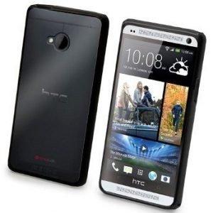 Muvit Bimat for HTC One Black/Transparent