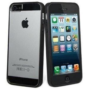 Muvit Bimat for iPhone 5 Black/Transparent