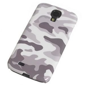 Muvit Camo Cover for Samsung Galaxy S4 Army White