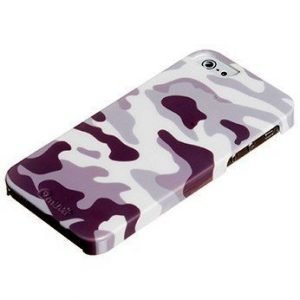 Muvit Camo Cover for iPhone 5 Army White