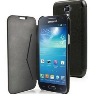 Muvit Flip Folio Wallet for Samsung Galaxy S4 Mini Black