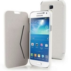 Muvit Flip Folio Wallet for Samsung Galaxy S4 Mini White