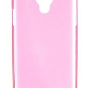 Muvit Fluo Hard Cover for Samsung S4 Clear Pink