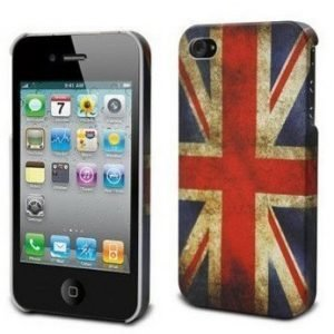 Muvit Hard Cover for iPhone 4S UK flag