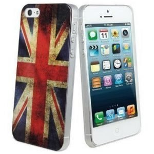 Muvit Hard Cover for iPhone 5 UK Flag