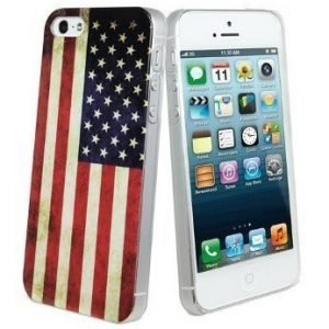 Muvit Hard Cover for iPhone 5 USA Flag