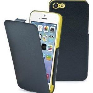 Muvit Iflip Case for iPhone 5C Black