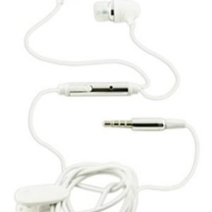 Muvit KP- iPhone In-Ear with Mic1 White / Silver