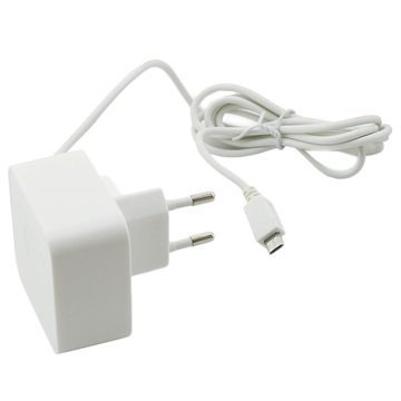 Muvit MicroUSB Travel Charger 1A White