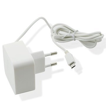 Muvit MicroUSB Travel Charger White