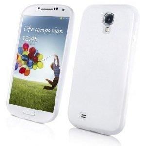 Muvit MiniGel Soft Case for Samsung Galaxy S4 White