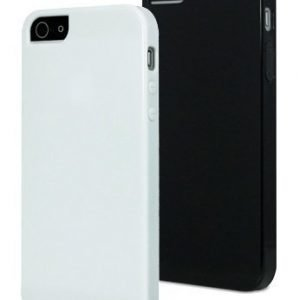 Muvit MiniGel for iPhone 5 2-pack Black / White