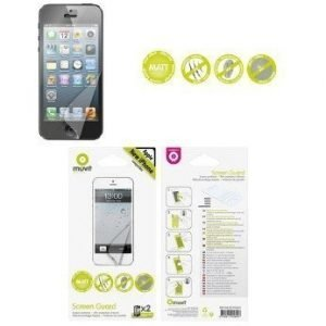Muvit Screenprotector for iPhone 5 2pack