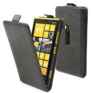 Muvit Slim Flip Case for Nokia Lumia 920 Black