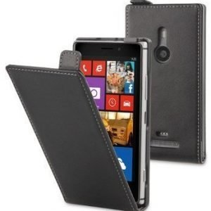 Muvit Slim Flip Case for Nokia Lumia 925 Black