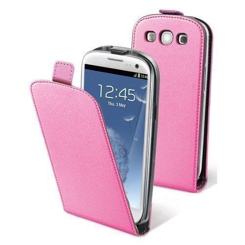 Muvit Slim Flip Case for Samsung Galaxy SIII Pink