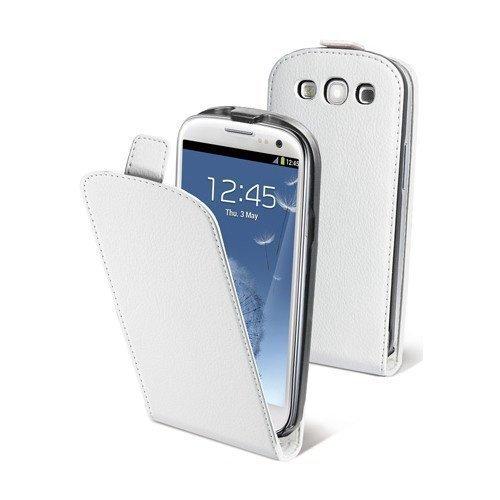 Muvit Slim Flip Case for Samsung Galaxy SIII White