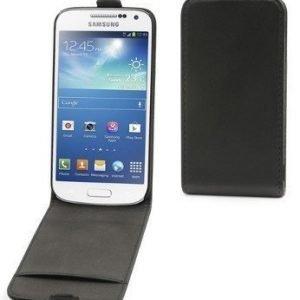 Muvit Slim Flip Case for Samsung S4 Mini Black