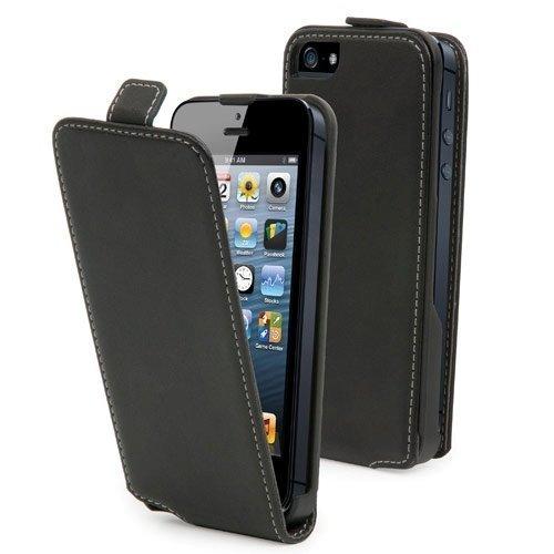 Muvit Slim Flip Case for iPhone 5 Black