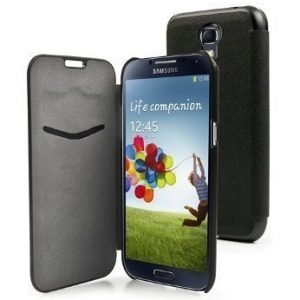 Muvit Slim Wallet for Samsung Galaxy S4 Black