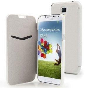 Muvit Slim Wallet for Samsung Galaxy S4 White