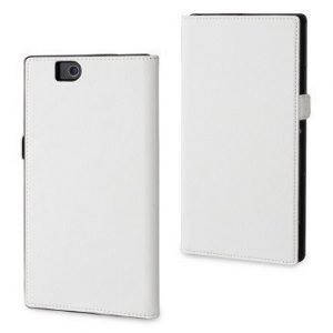 Muvit Slim Wallet for Sony Xperia Z Ultra White