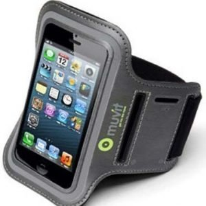 Muvit Sport Armband for iPhone 5 Grey