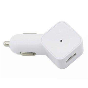 Muvit USB Autolaturi 1A Valkoinen