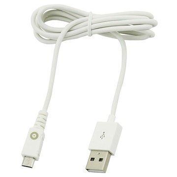 Muvit USB microUSB -johto 1.2m