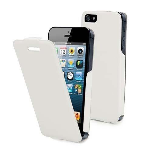 Muvit iFlip Case iPhone 5 White
