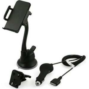 Muvit/MCA Carkit Holder+Charger iPhone 4 & 4S
