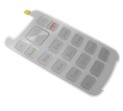 Näppäimistö Motorola WX308 Gleam+ valkoinen Alkuperäinen