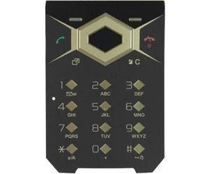 Näppäimistö Sony Ericsson Jalou D & G Alkuperäinen