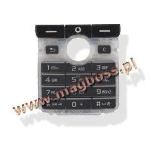 Näppäimistö Sony Ericsson K750 musta Alkuperäinen