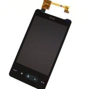Näyttö + Kosketuspaneeli HTC HD mini Alkuperäinen