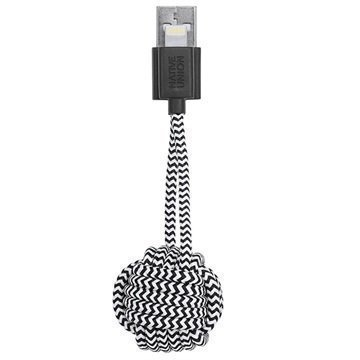 Native Union Key Lightning / USB Cable iPhone iPad iPod Zebra