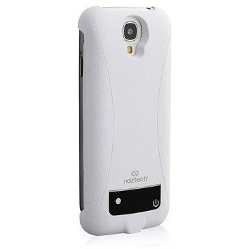 Naztech Akkukotelo Samsung Galaxy S4 I9500 I9502 I9505 Valkoinen